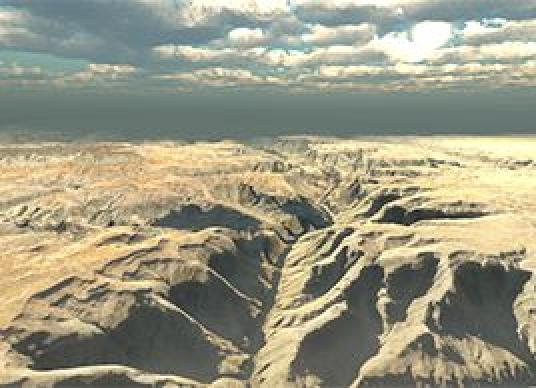 Real World Terrain - Grand Canyon