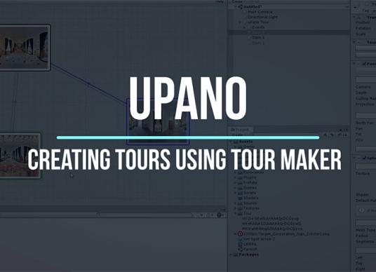 uPano - Creating visual tours using Tour Maker