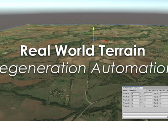 Real World Terrain - Regeneration Automation