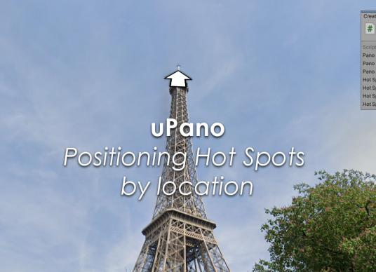 uPano - Positioning Hot Spots by location