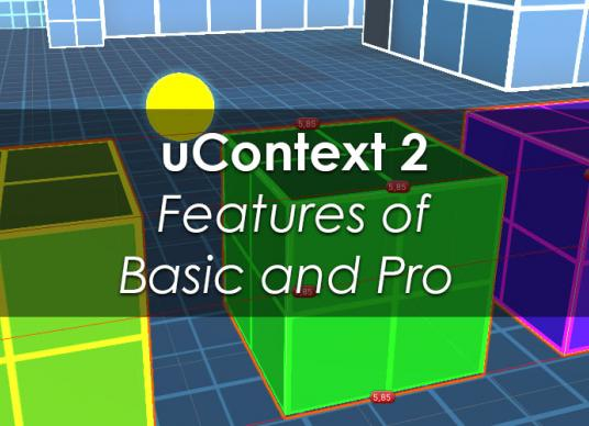 uContext 2 Features of Basic and Pro