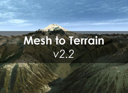 Mesh To Terrain