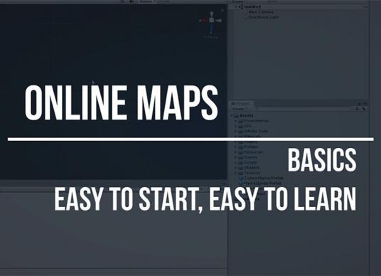 Online Maps - Basics. Easy to start, easy to learn