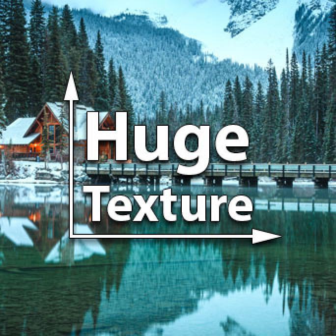 Huge Texture