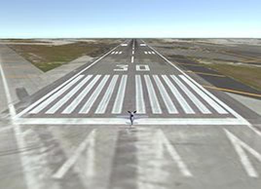 Online Maps - Flight Between Airports