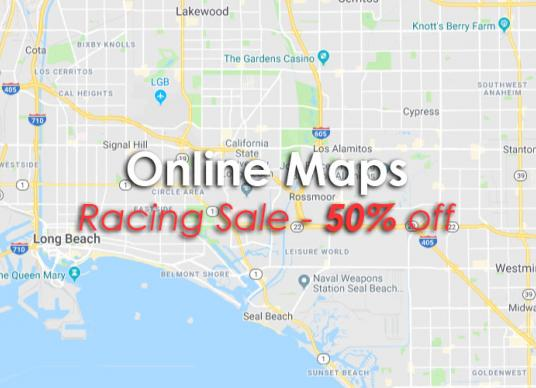 Online Maps on Rancing Sale