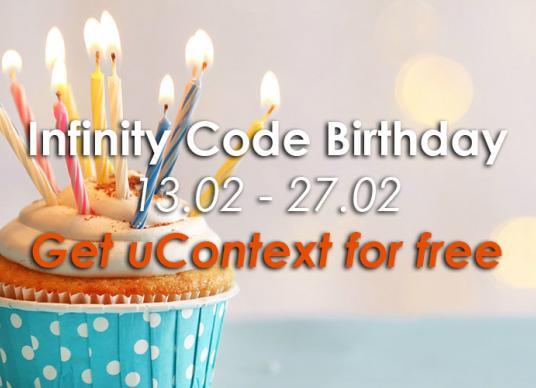 Infinity Code Birthday
