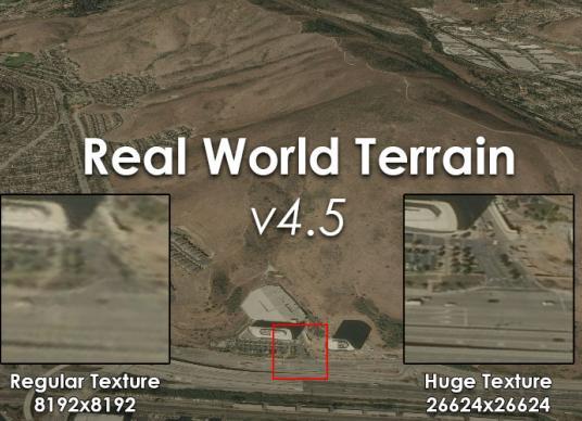 Real World Terrain v4.5
