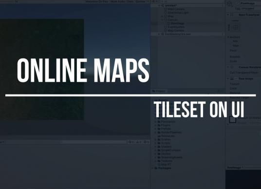 Online Maps - Tileset On UI