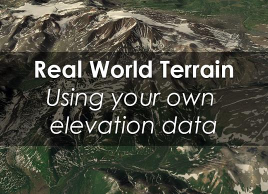 Real World Terrain - Intercept Elevations