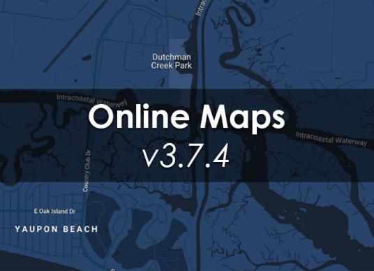 Online Maps v3.7.4