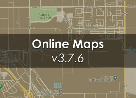 Online Maps v3.7.6