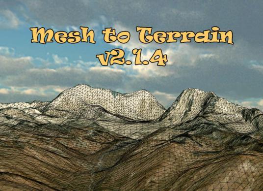 Mesh to Terrain v2.1.4
